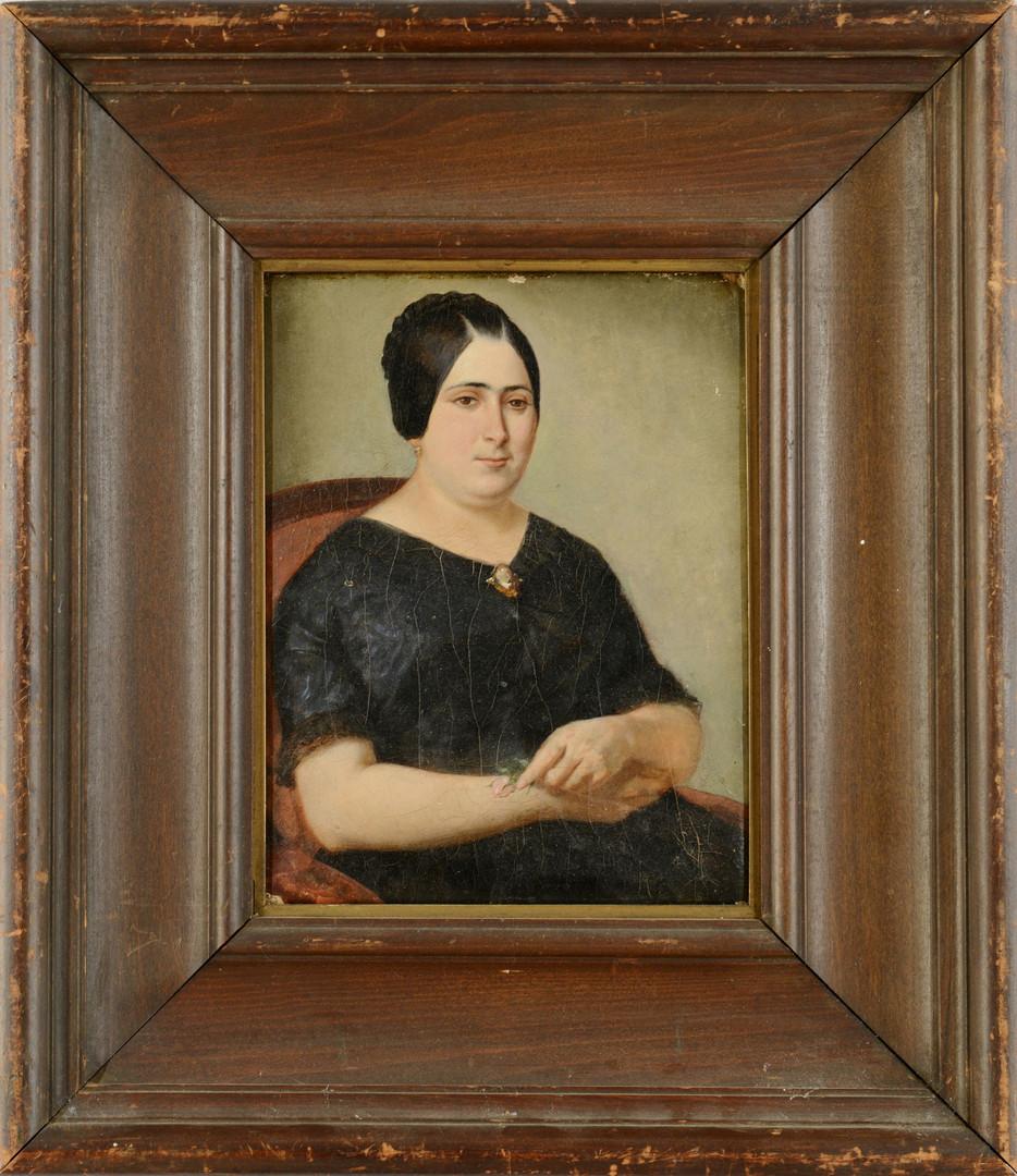 Lot 43: Southern School Creole portrait
