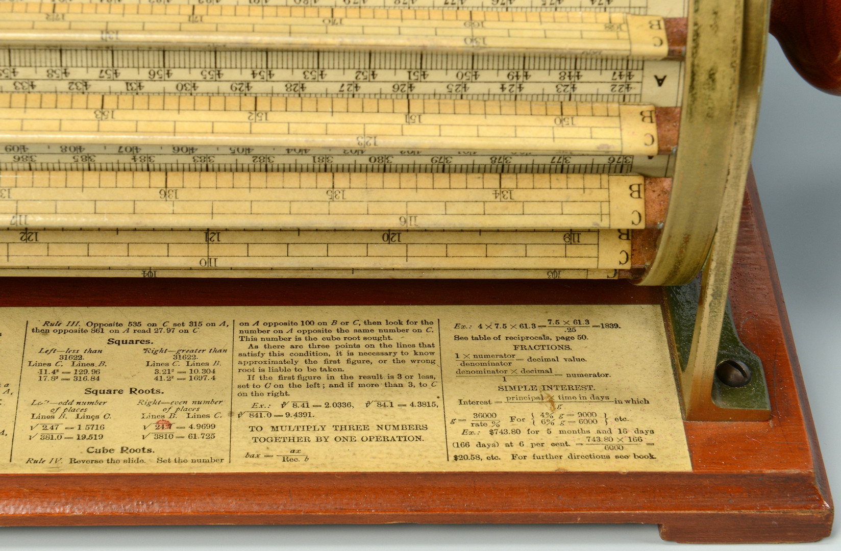 Lot 443: Thacher's Model 4012 Calculating Instrument