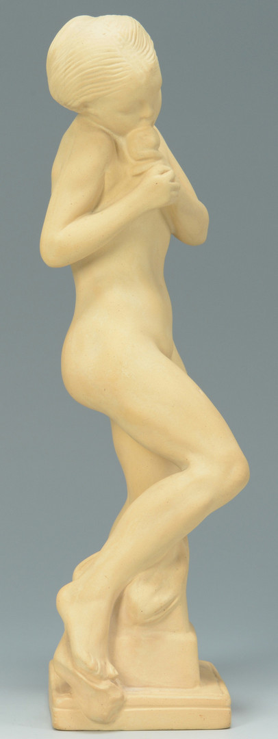 Lot 451: Three porcelain nudes, Rosenthal and Royal Copenha