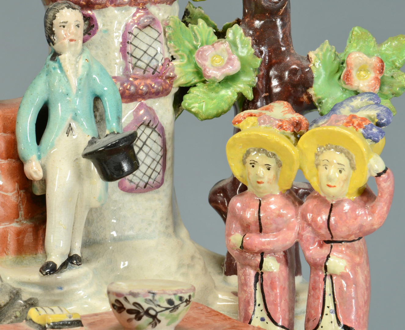 Lot 453: Staffordshire Baptism Group