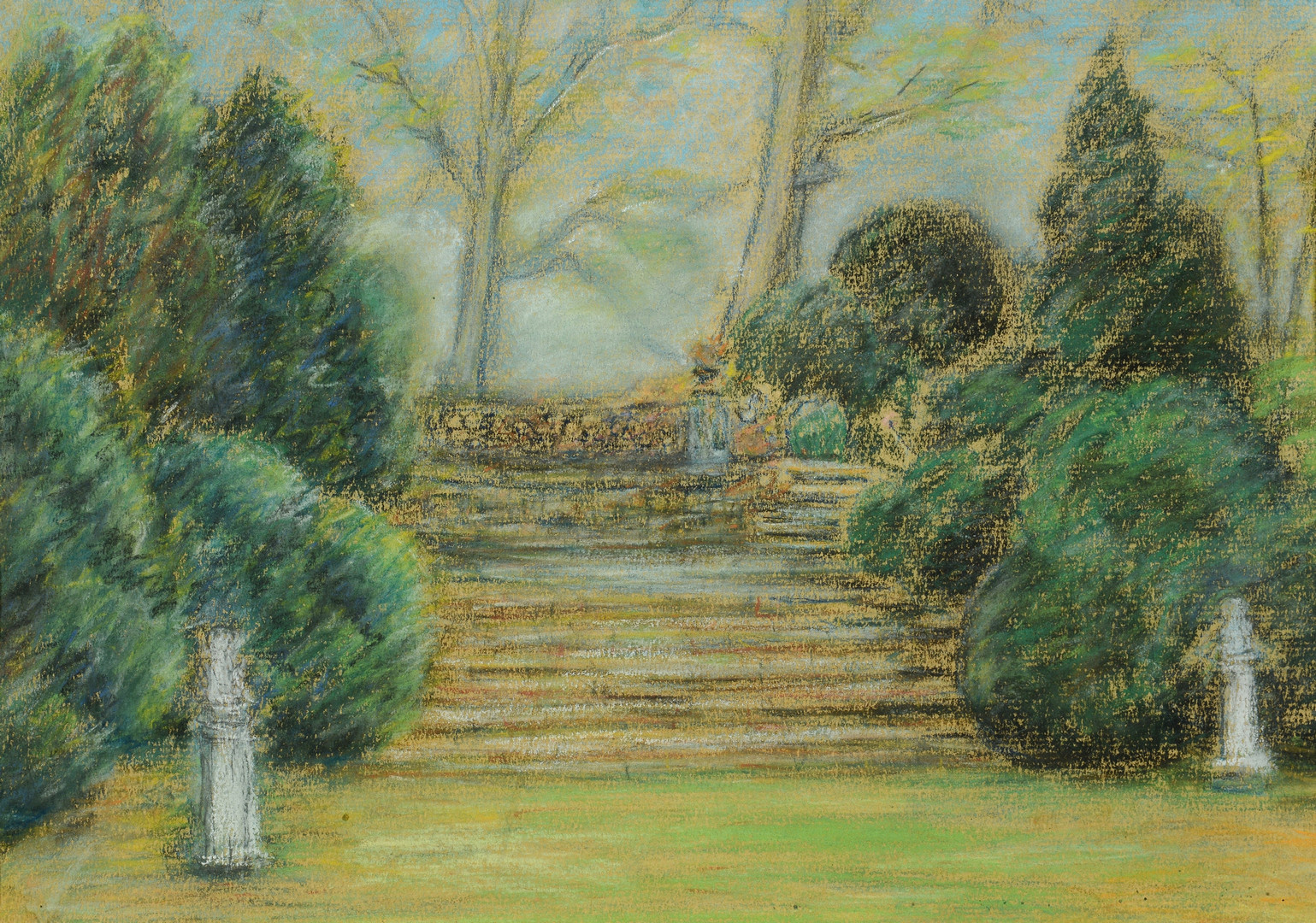 Lot 457: Juliette Marie Desport (KY), Cheekwood Steps and C