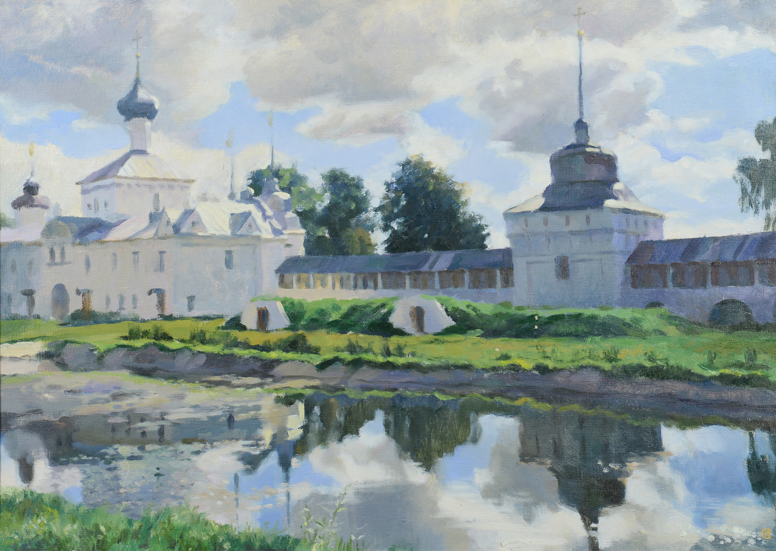 Lot 463: Oil on Canvas, Russian School