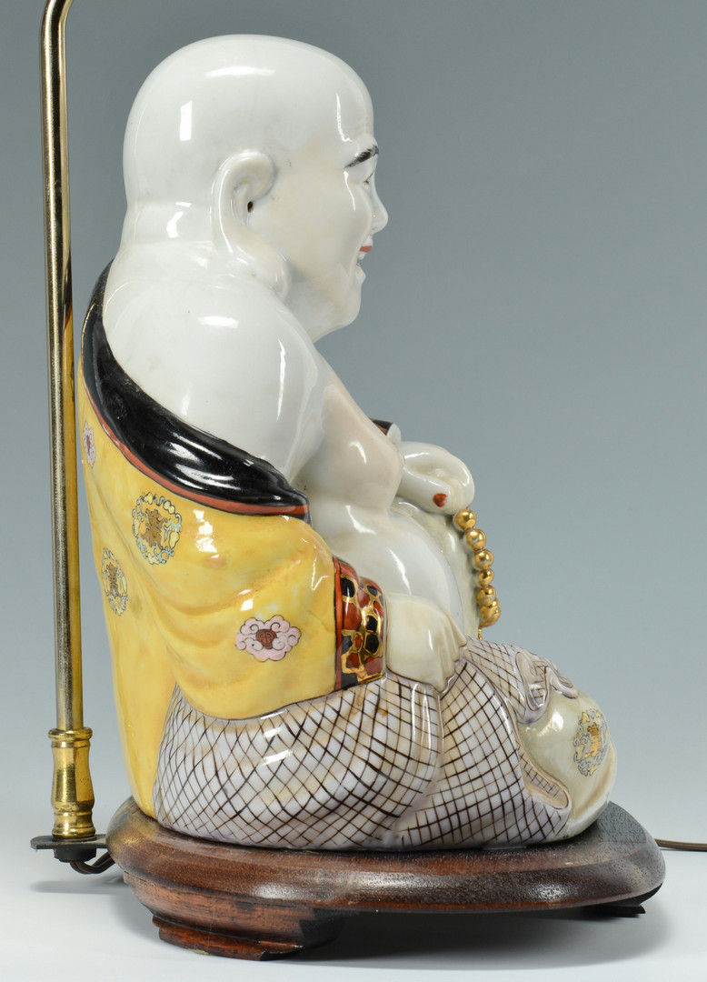 Lot 471: 2 Chinese Porcelain Lamps