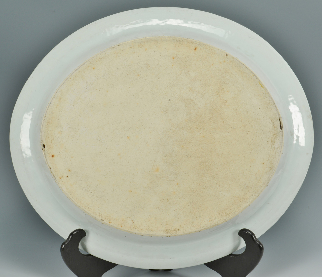 Lot 491: Large 19th c. Canton Platter