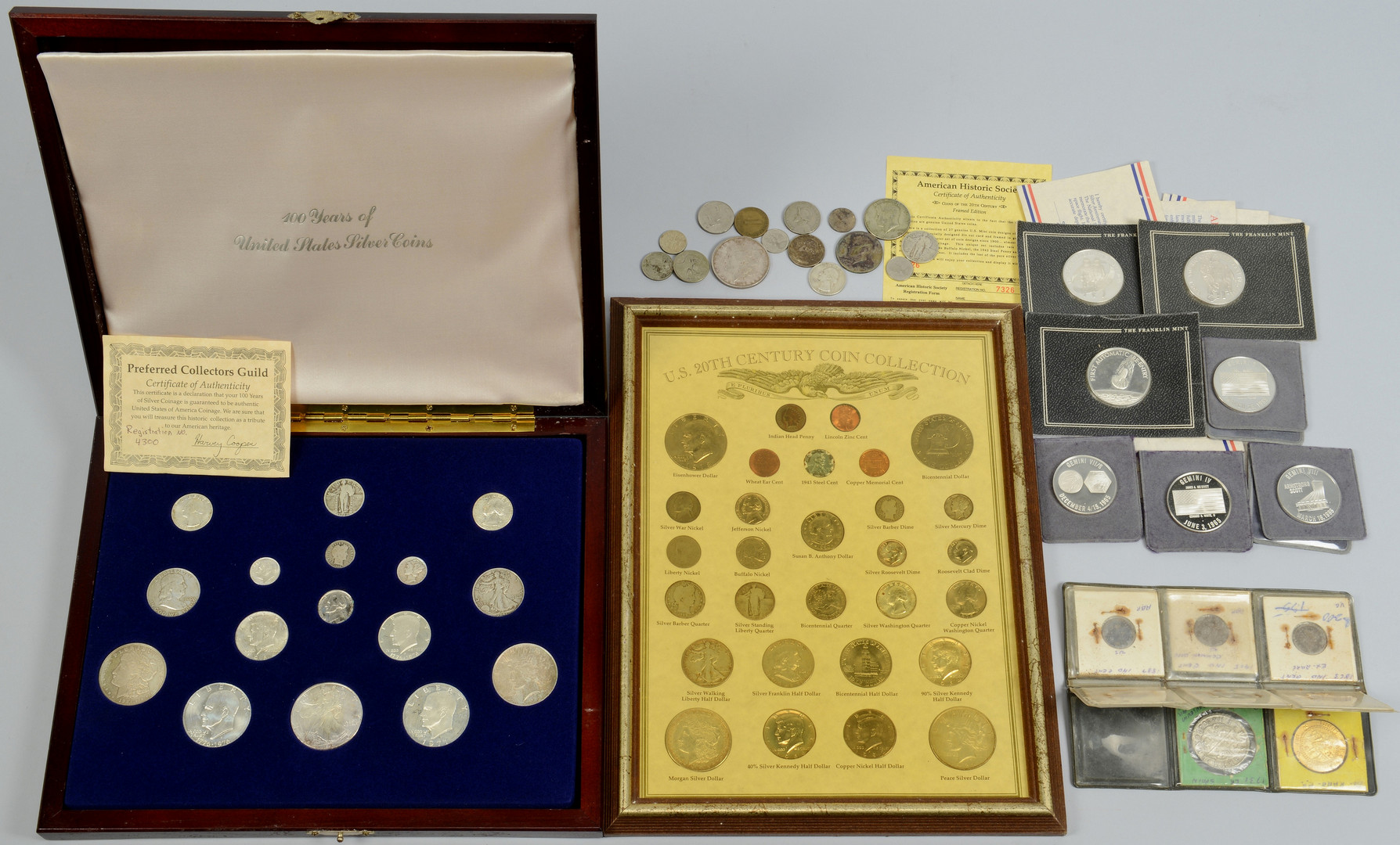 Lot 509: Large Coin Lot including Silver Coins