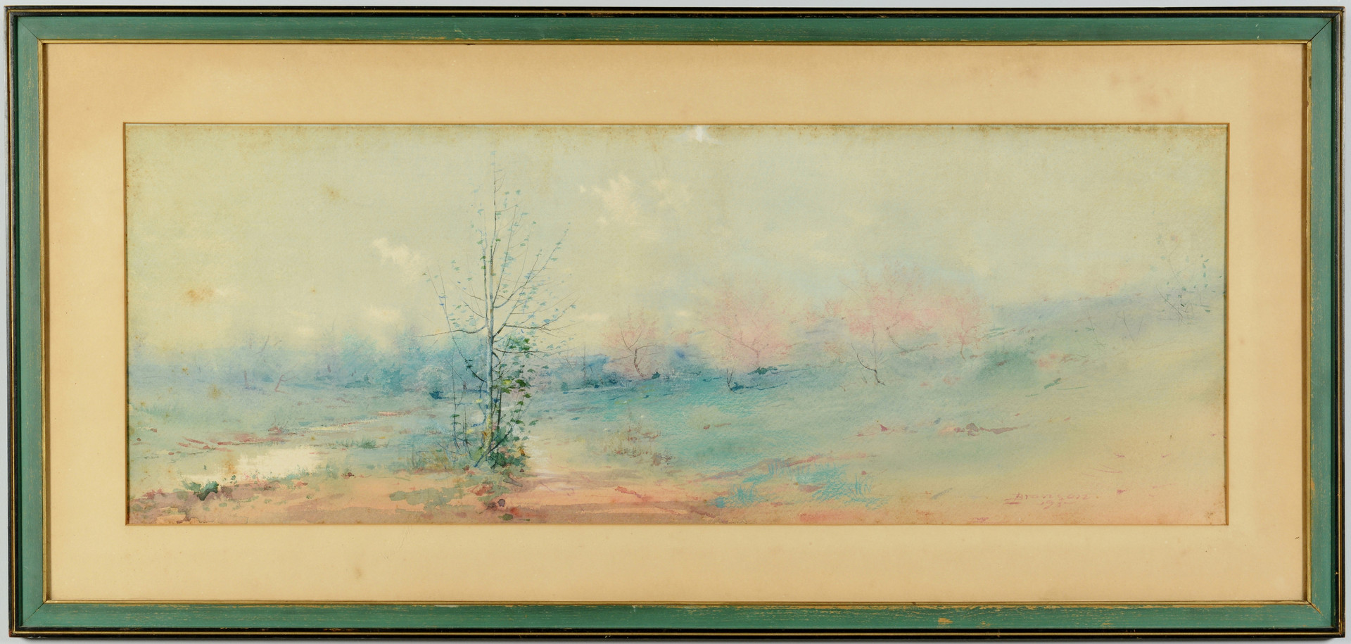 Lot 51: Lloyd Branson Watercolor & Pastel