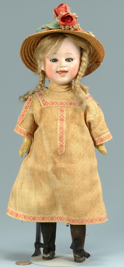 Lot 525: G. Heubach Character Girl Doll