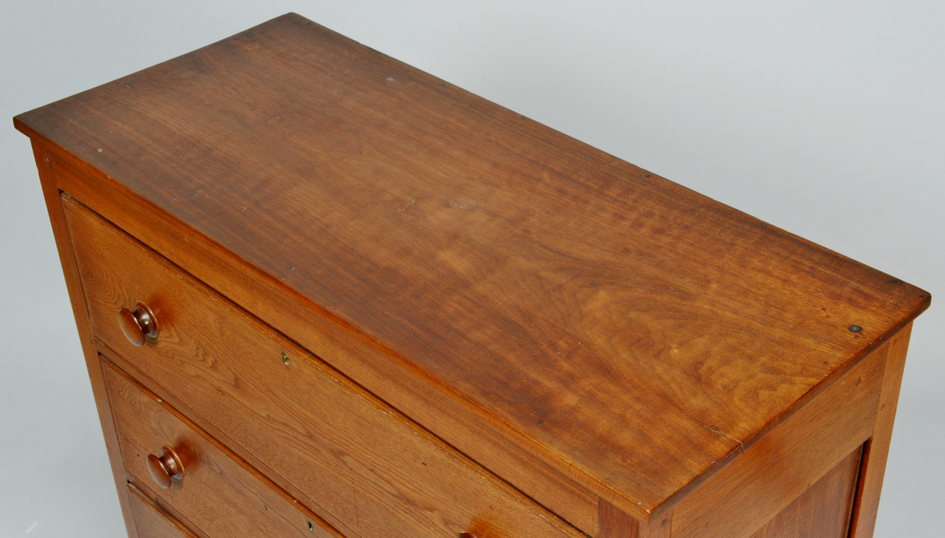 Lot 543: East Tennessee Sheraton Chest