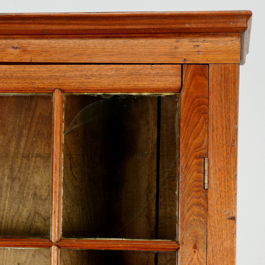 Lot 544: East TN Walnut Bookcase & Desk