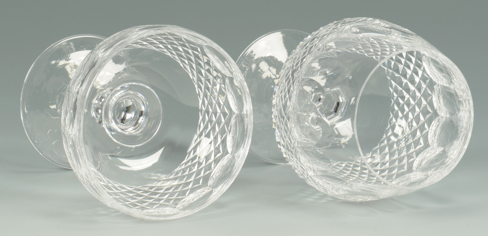 "Lot 552: 40 Waterford Crystal ""Colleen"" Pattern Glasses"