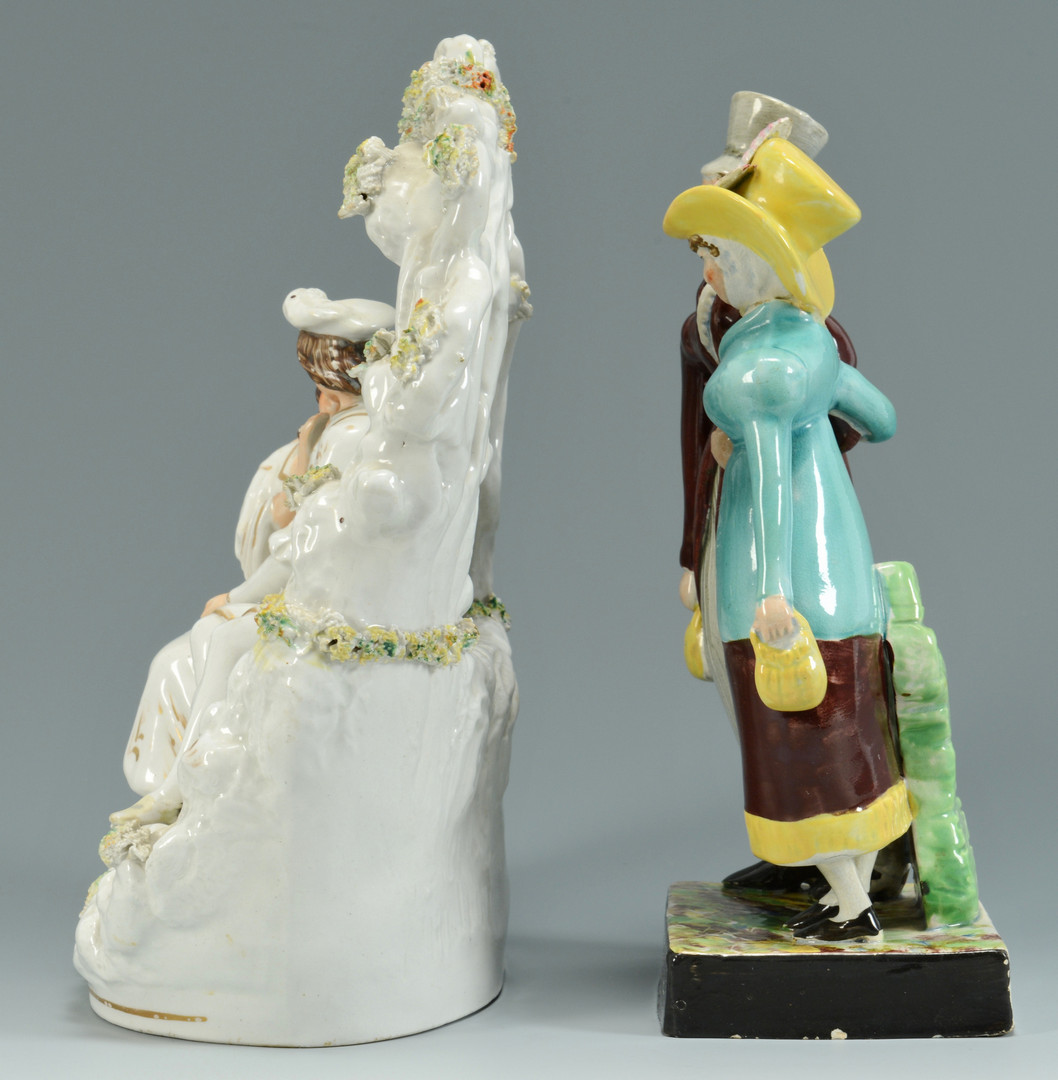 Lot 558: 4 Staffordshire Groups inc. Dandies