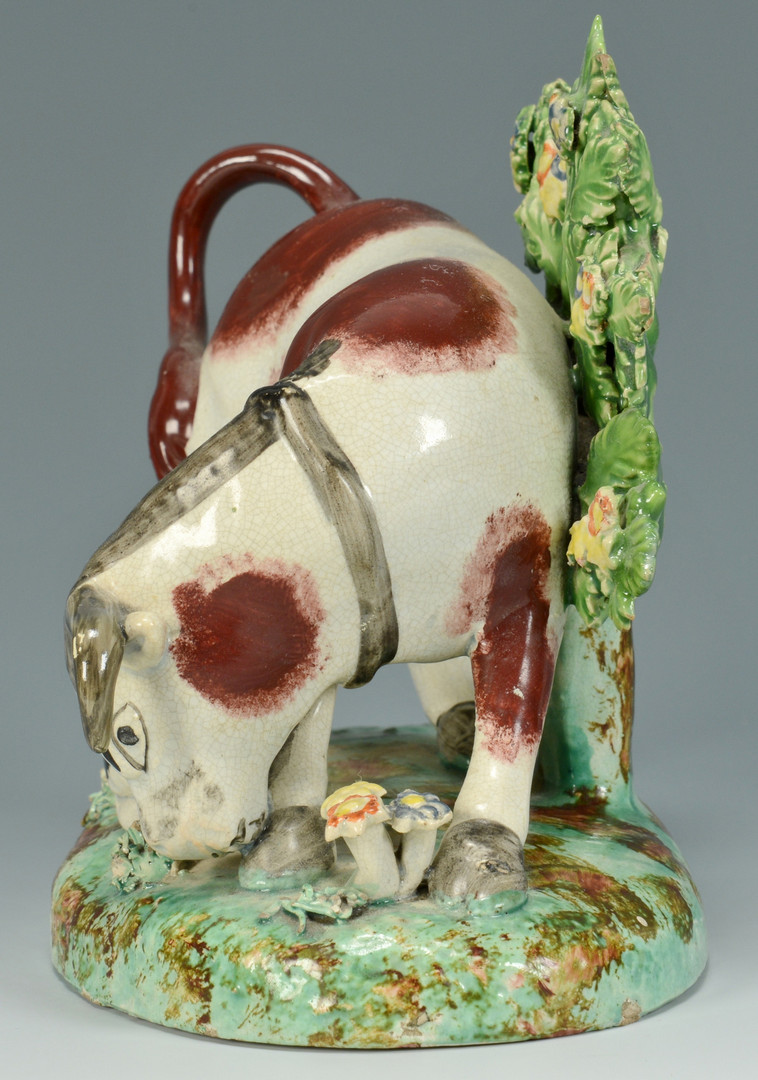 Lot 559: Staffordshire group: Bull Baiting