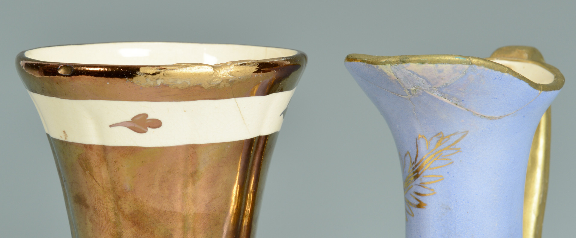 Lot 561: Cumbow Copper Luster, 19 pcs