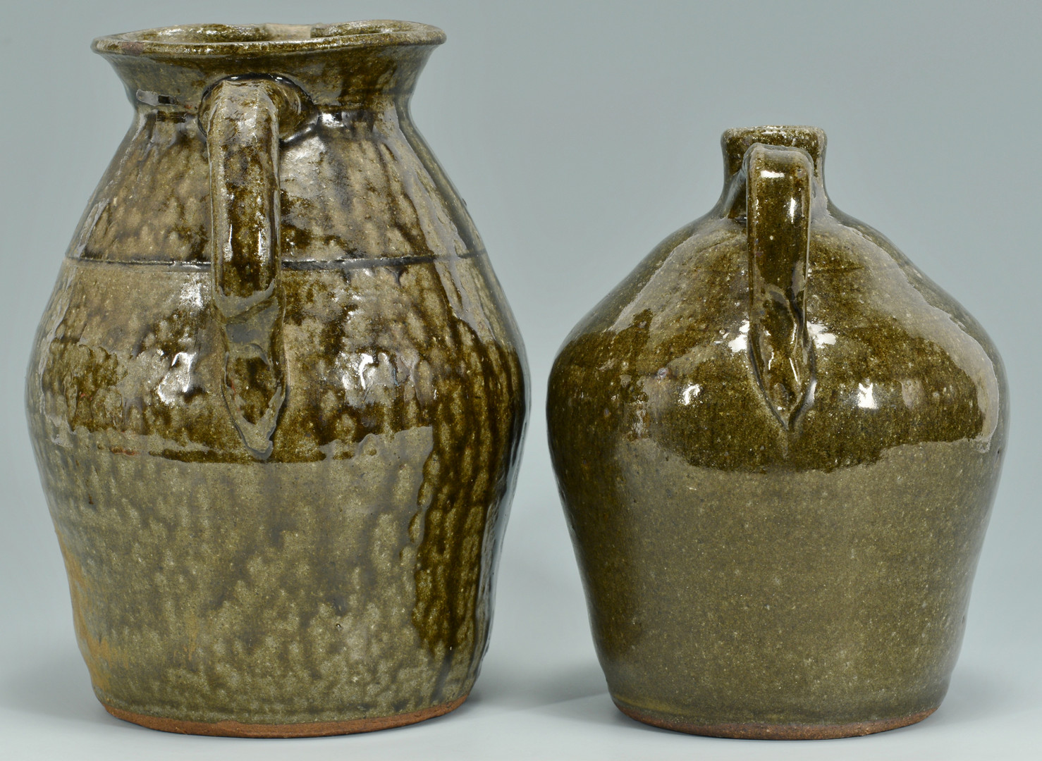 Lot 565: Lanier Meaders Pitcher and Jug