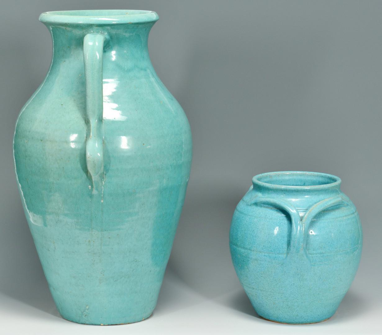 Lot 568: 2 NC J. B. Cole Pottery Items