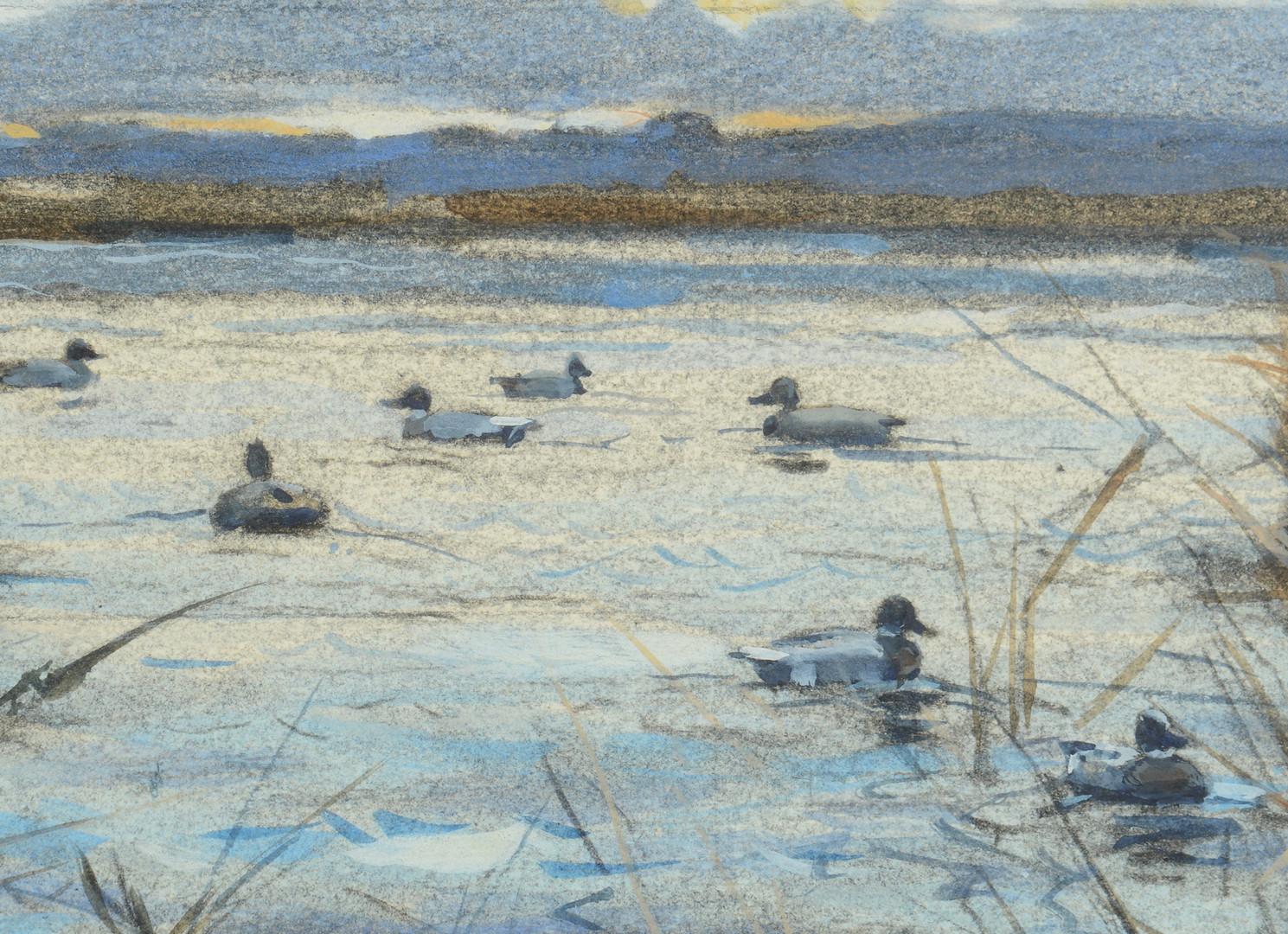 Lot 57: A. L. Ripley, Duck Hunting Scene