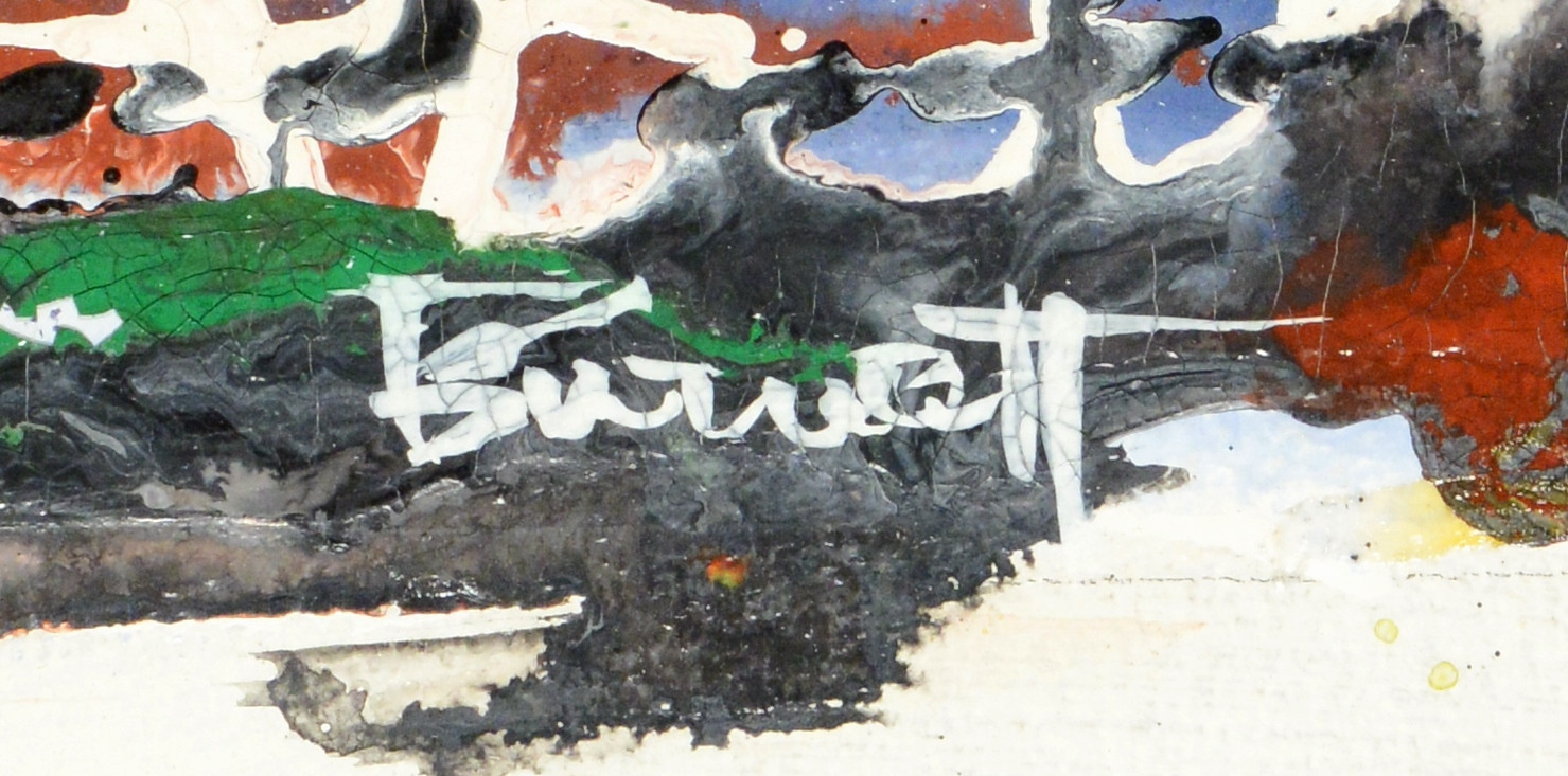 Lot 585: Ted Burnett Abstract, Noisy Mixture