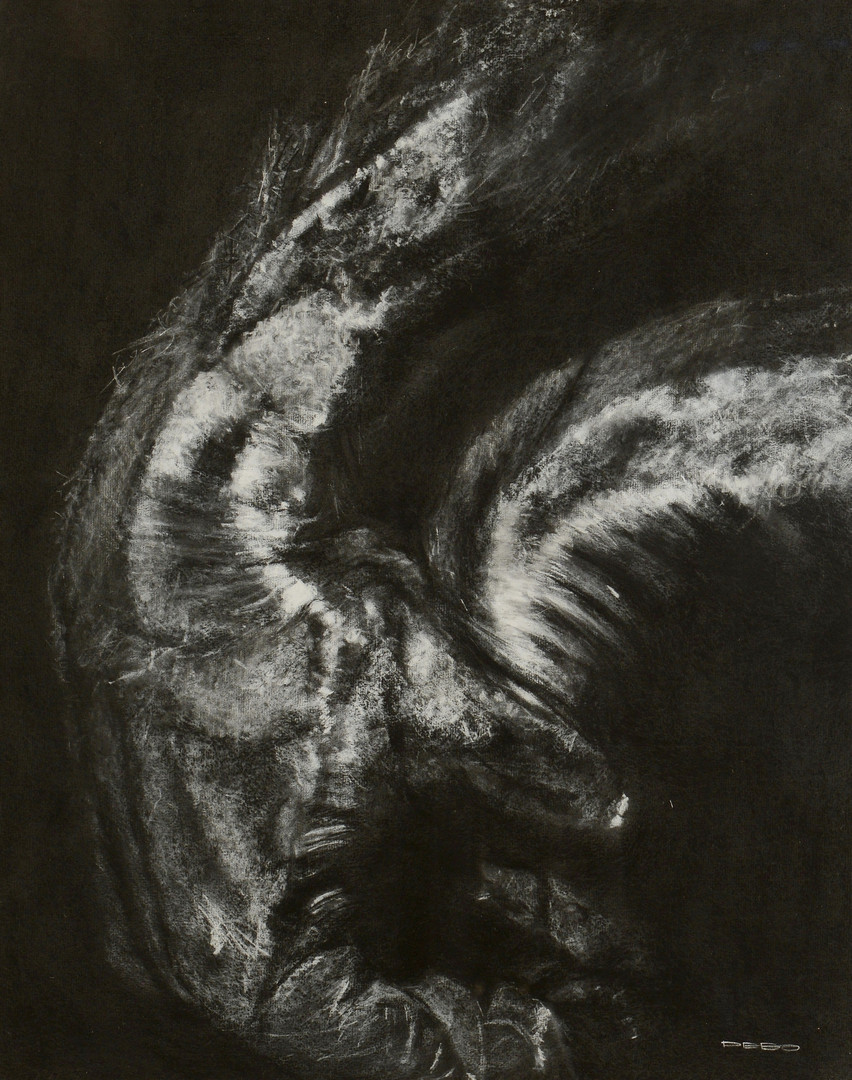 Lot 590: 2 Dennis Clark DEBO paintings