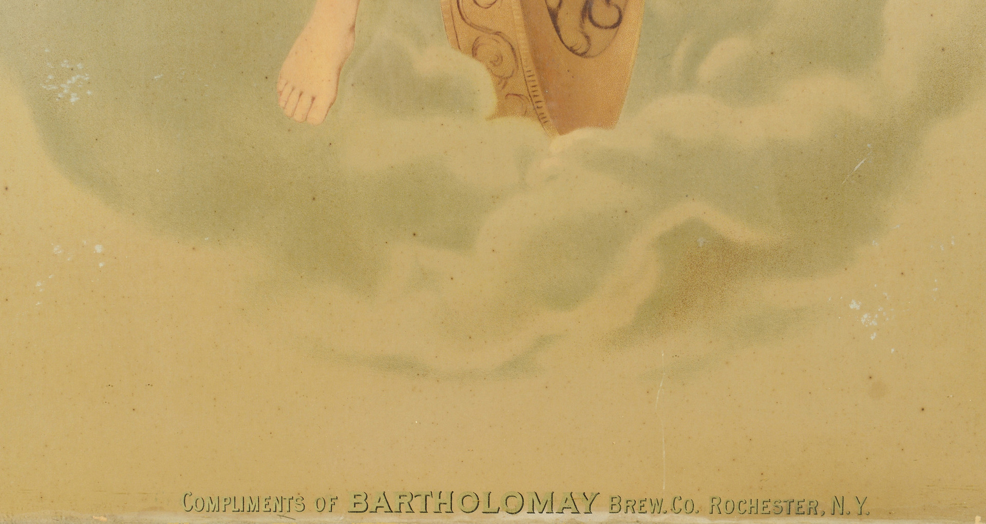 Lot 593: Bartholomay Brewery Poster