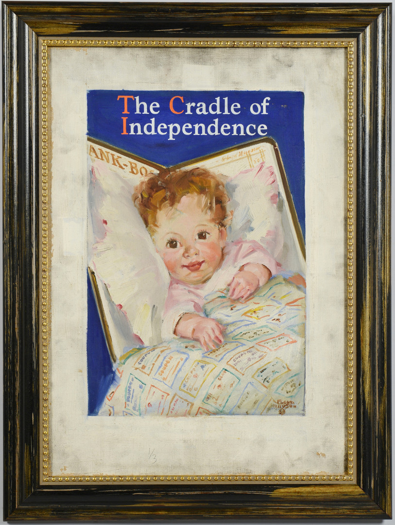 Lot 594: Munson Illustration Art, Cradle of Independence
