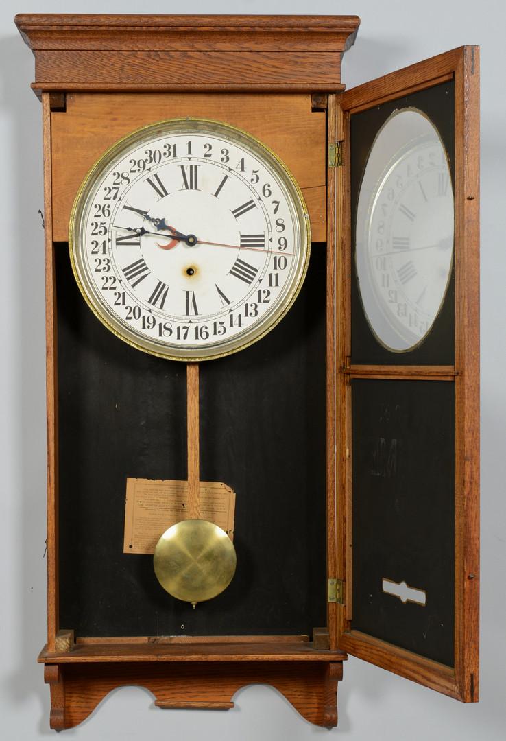 Lot 600: Calumet Sessions Adv. Clock