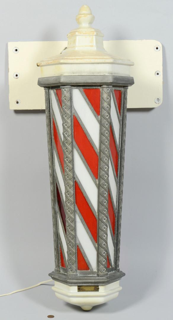Lot 603: Koken Lighted Barber Pole