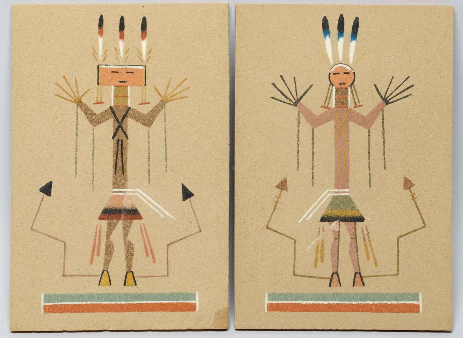 Lot 610: Native American Art and Rugs