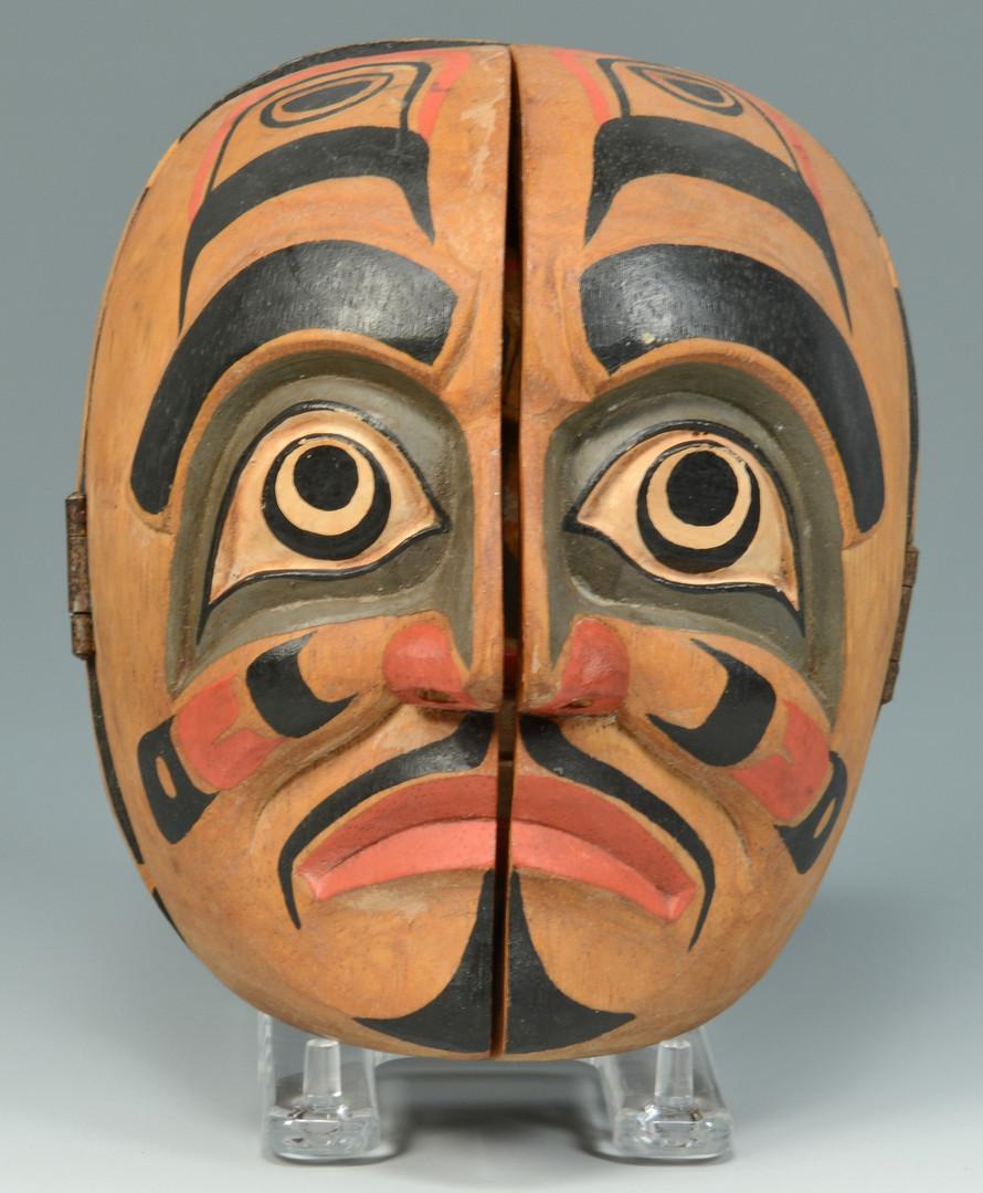 Lot 613: Two Northwest Coast Indian Carvings, poss. Haida