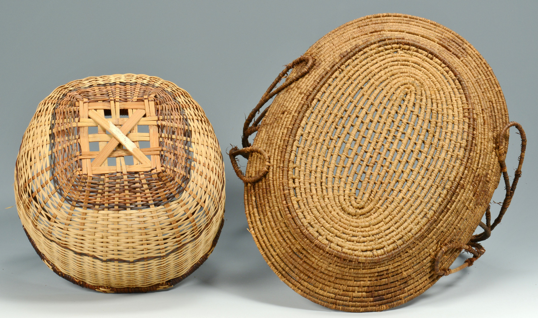Lot 620: Seminole and other baskets, 6