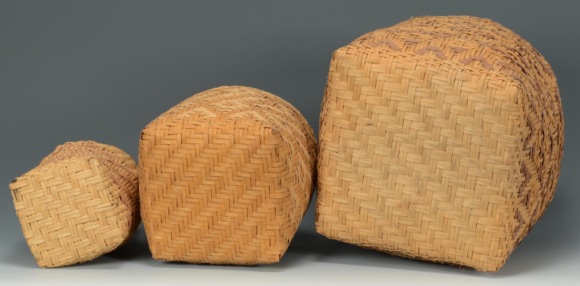 Lot 621: 3 Cherokee Baskets