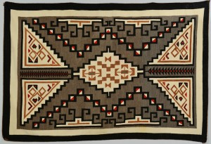 Lot 623: Navajo Klagetoh Rug