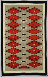 Lot 624: Navajo Ganado Rug