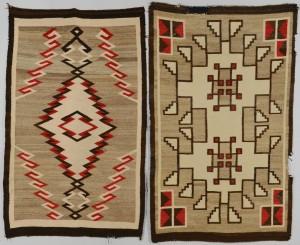 Lot 625: 2 Navajo Rugs