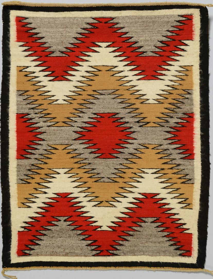 Lot 626: 3 Navajo Rugs