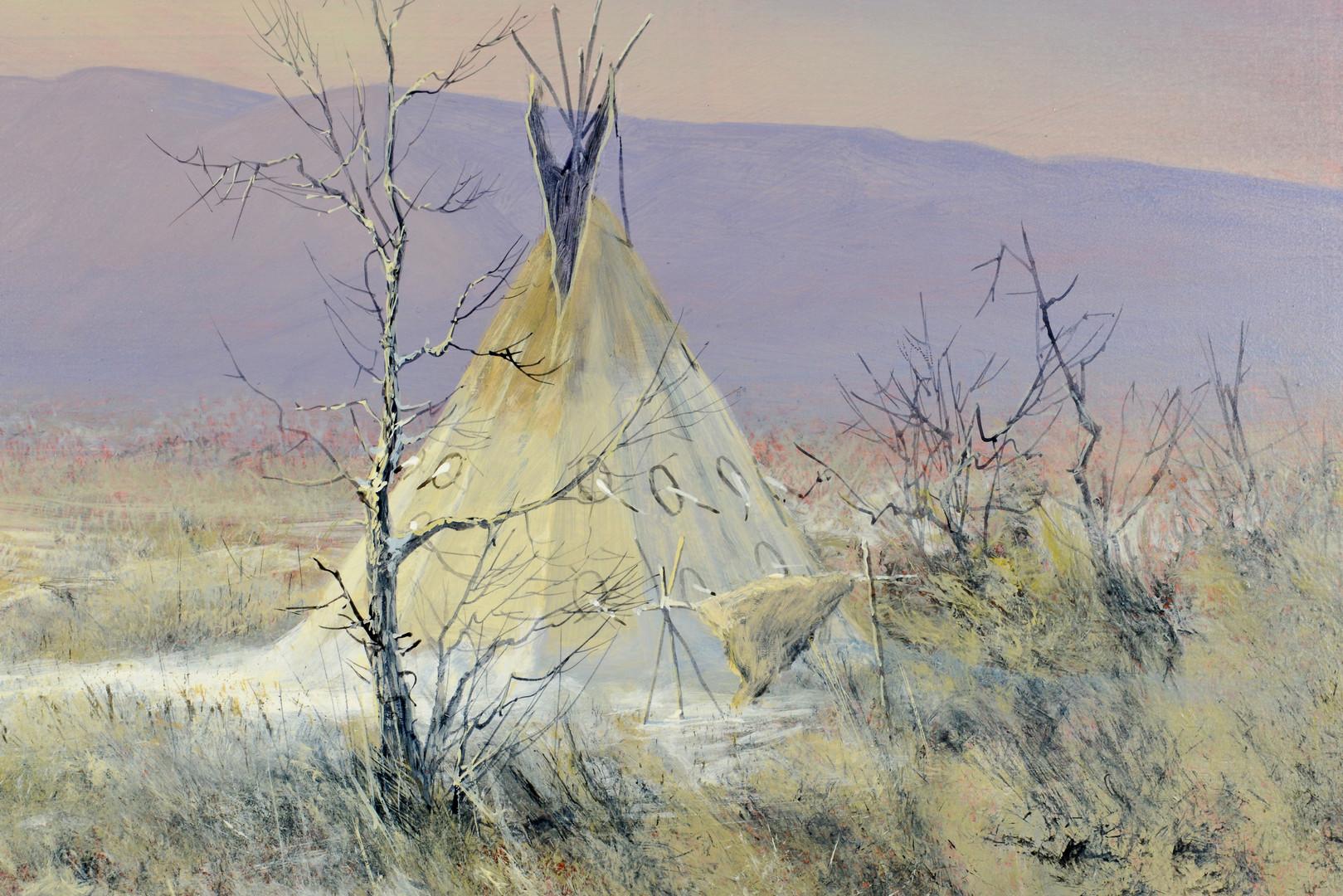 Lot 629: Mark Geller Southwest Landscape Oil