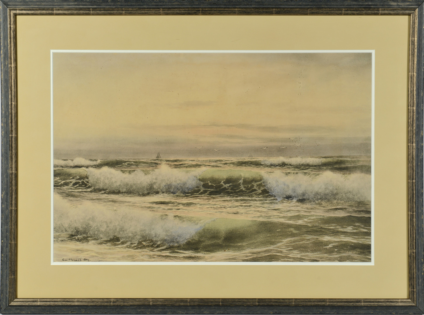Lot 637: George H. Gay Watercolor