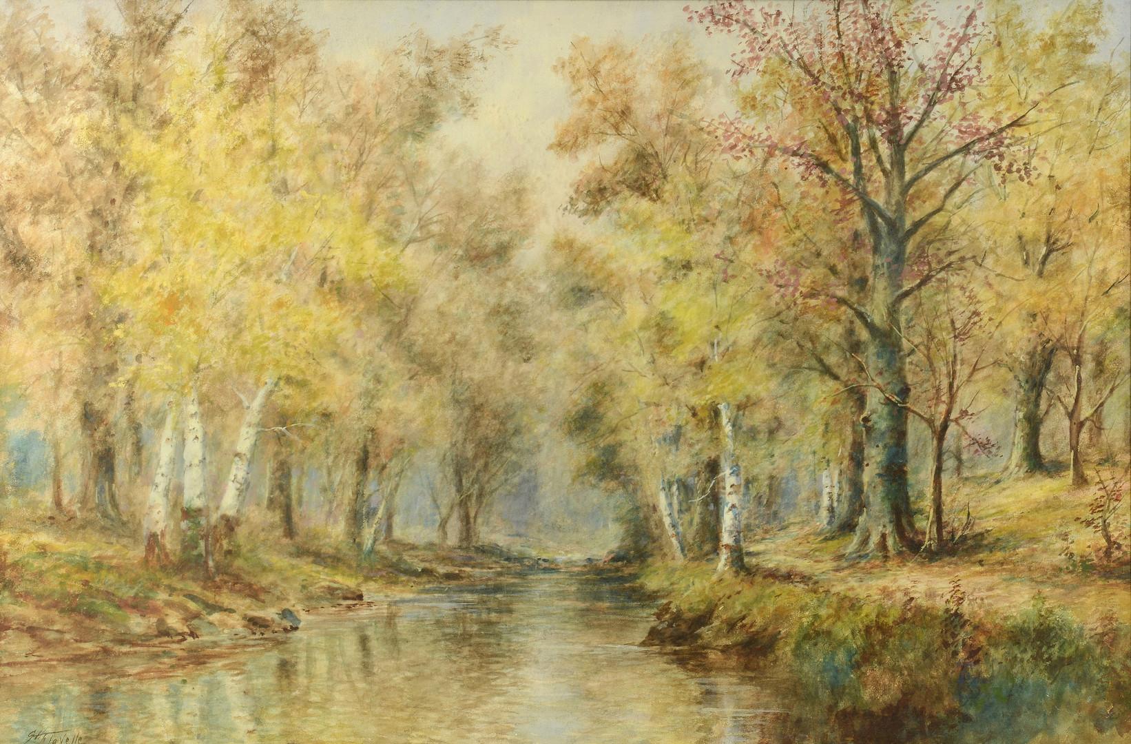 Lot 638: G. H. Flavelle Landscape Watercolor