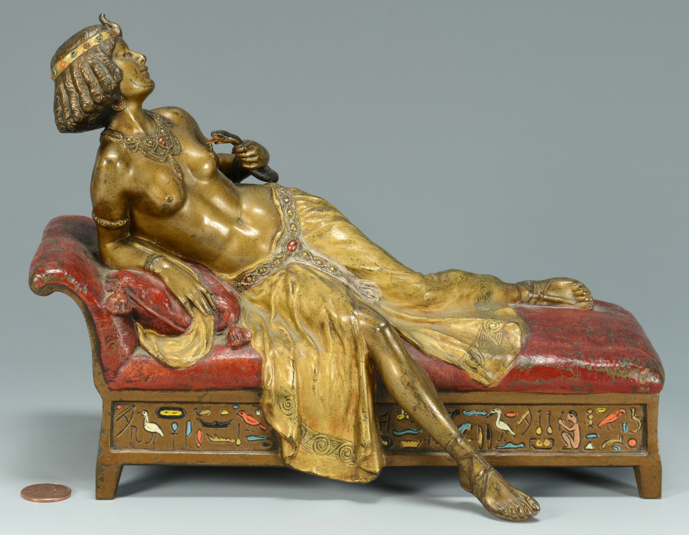 Lot 63: Franz Bergmann, Sacrifice of Cleopatra
