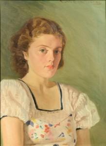 Lot 640: Allan Kramer Female Portrait
