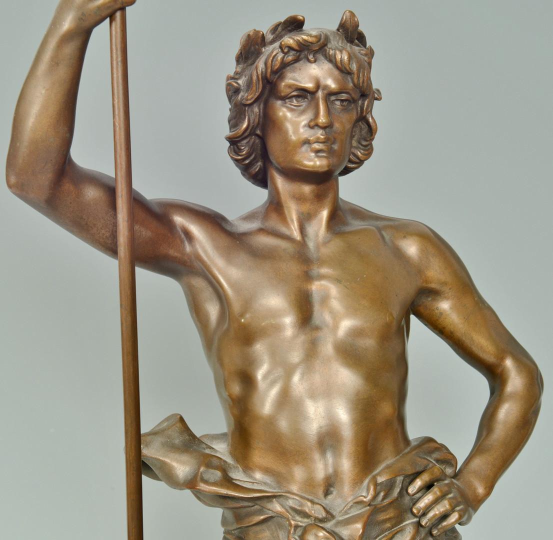 Lot 65: Henri Ple Bronze, Triumphator