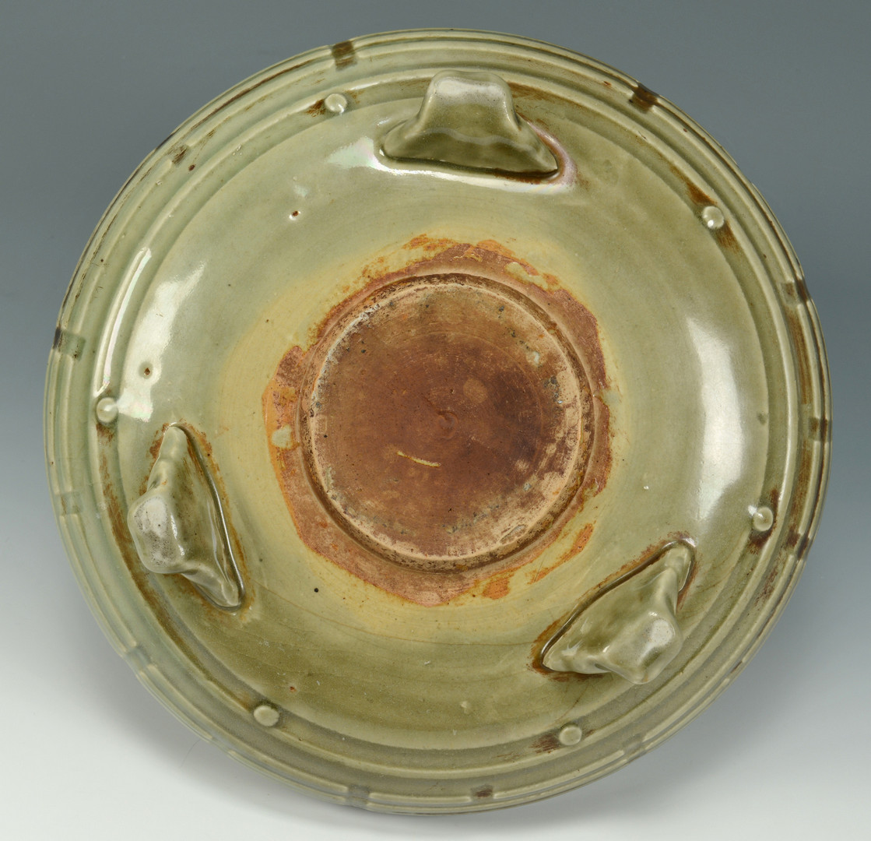 Lot 666: Chinese celadon Bulb Bowl