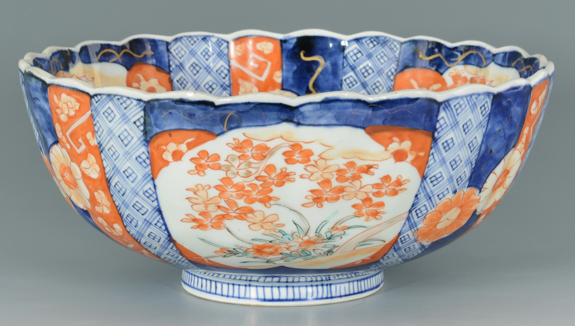Lot 669: Japanese Charger and Bowl