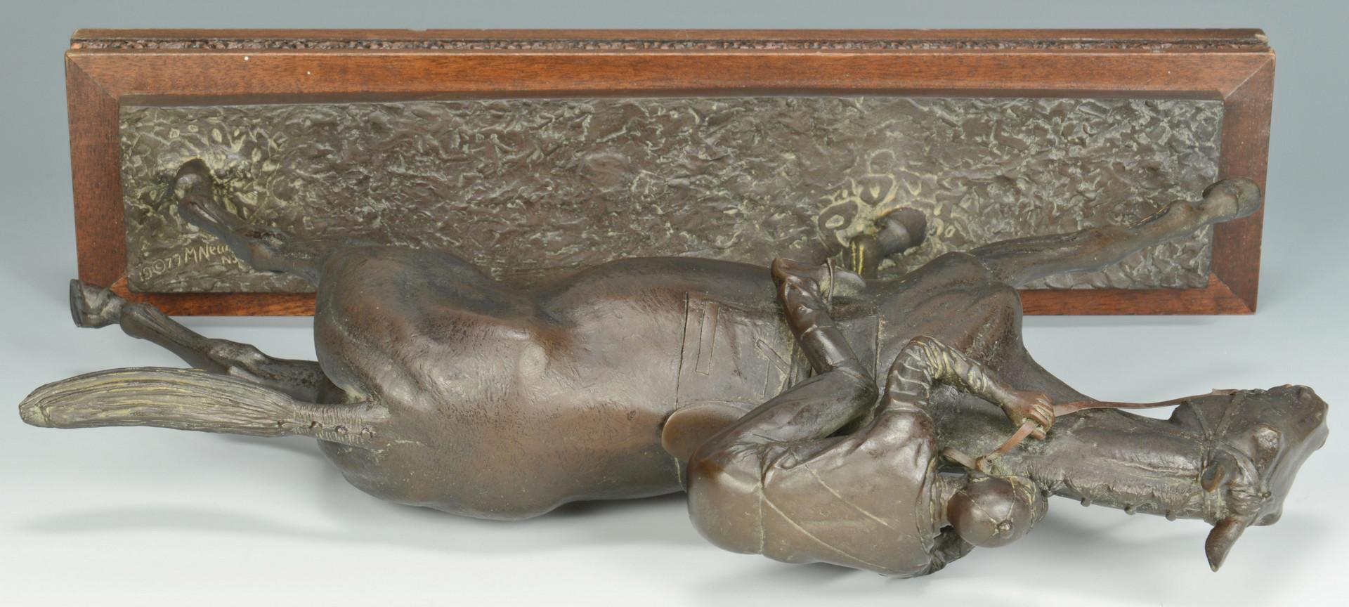 Lot 66: M. Newmark, Man O' War Bronze