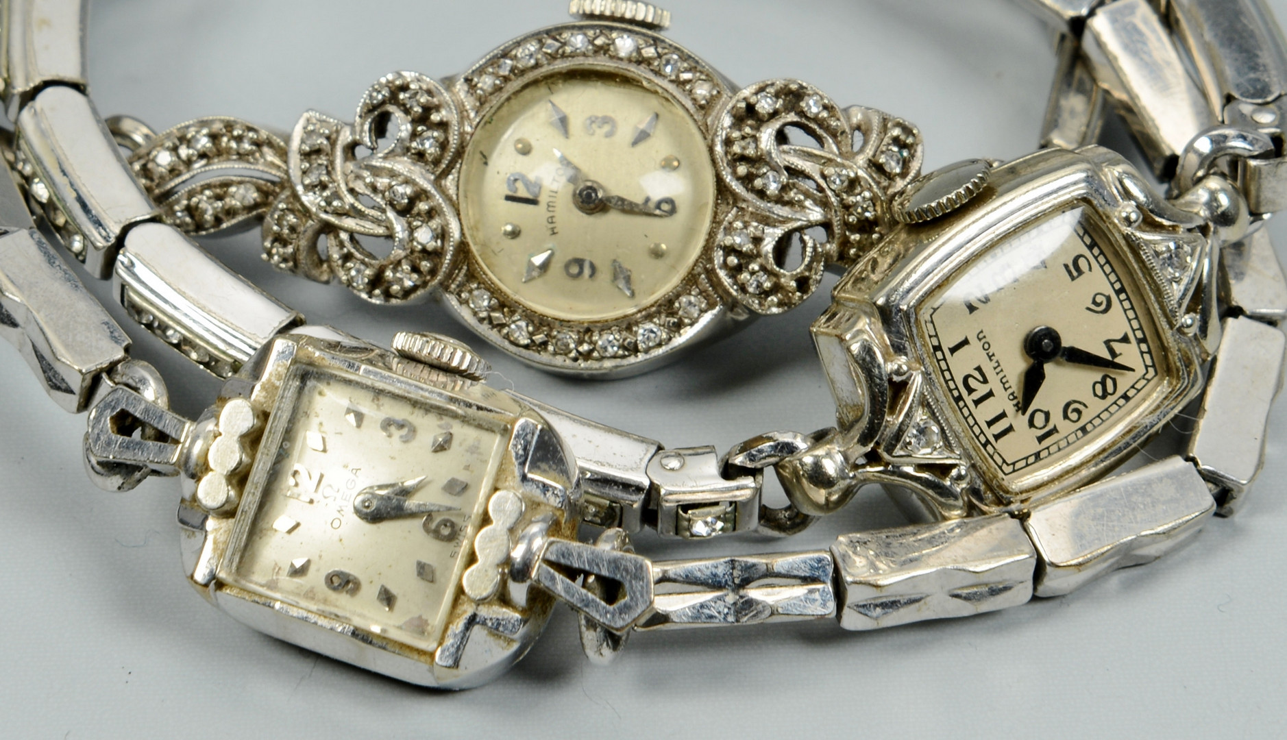 Lot 673: 5 Ladies Vintage Wrist Watches