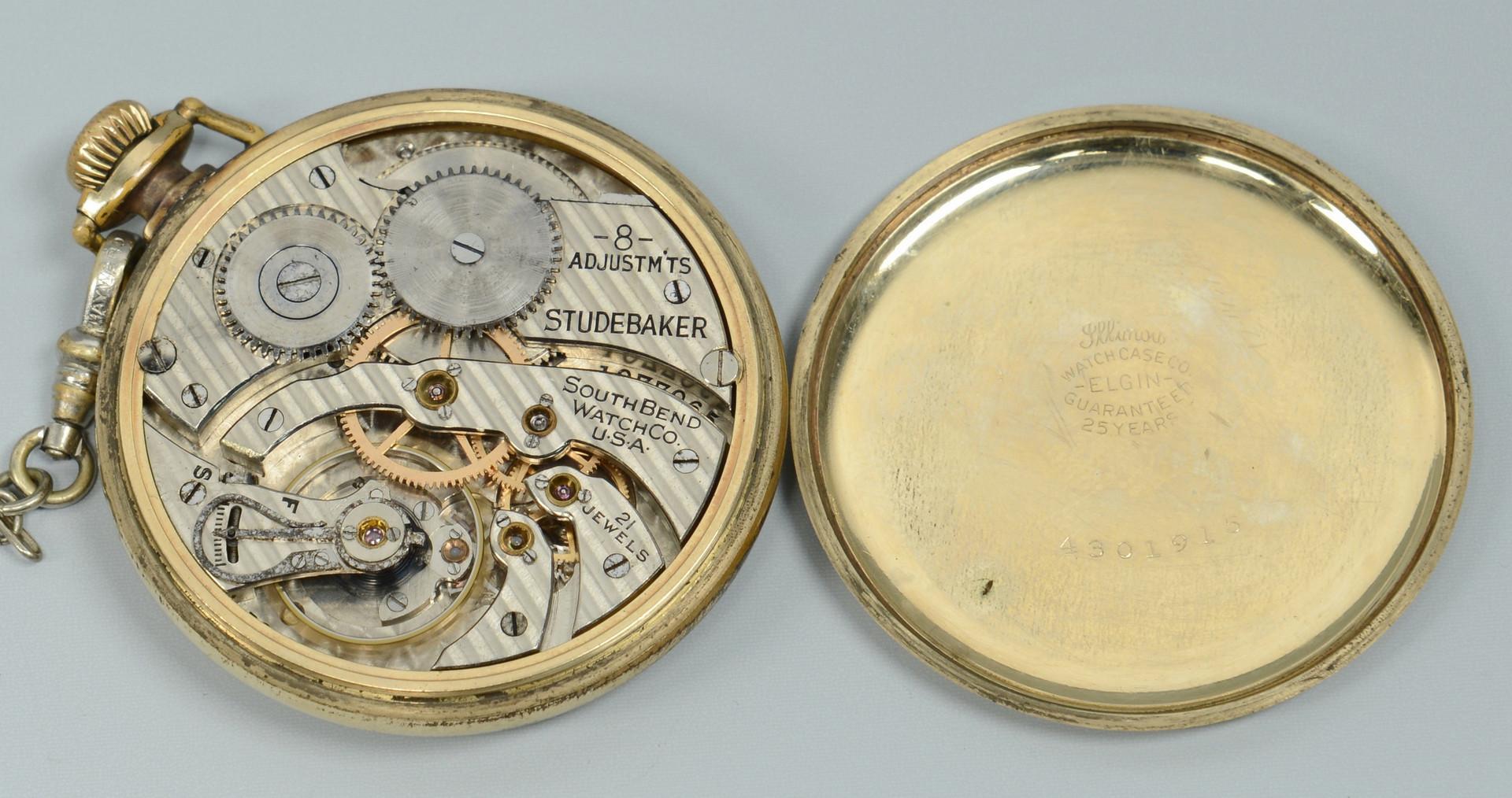 Lot 674: Vacheron & Constantin pocketwatch plus other