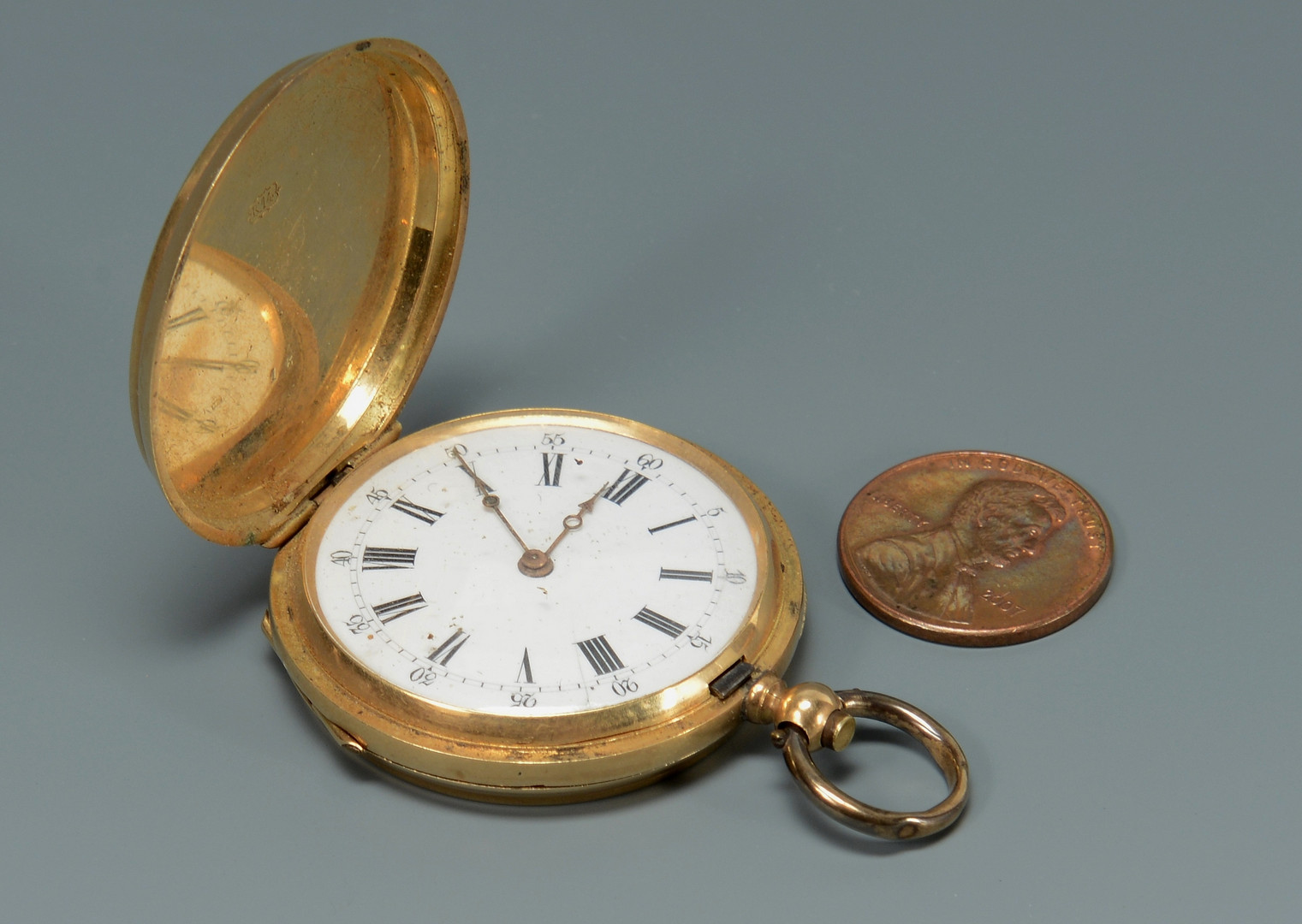 Lot 675: Lady's 14K Vacheron Geneva Pocket Watch