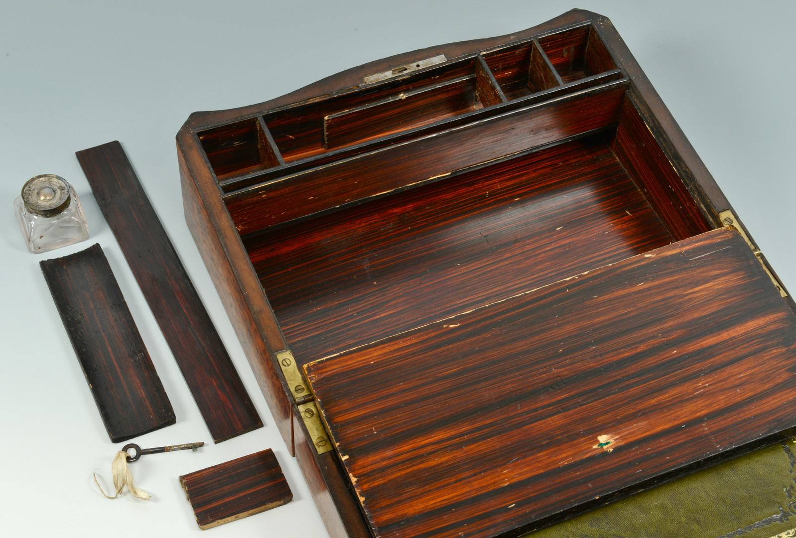 Lot 67: Two English Inlaid Boxes