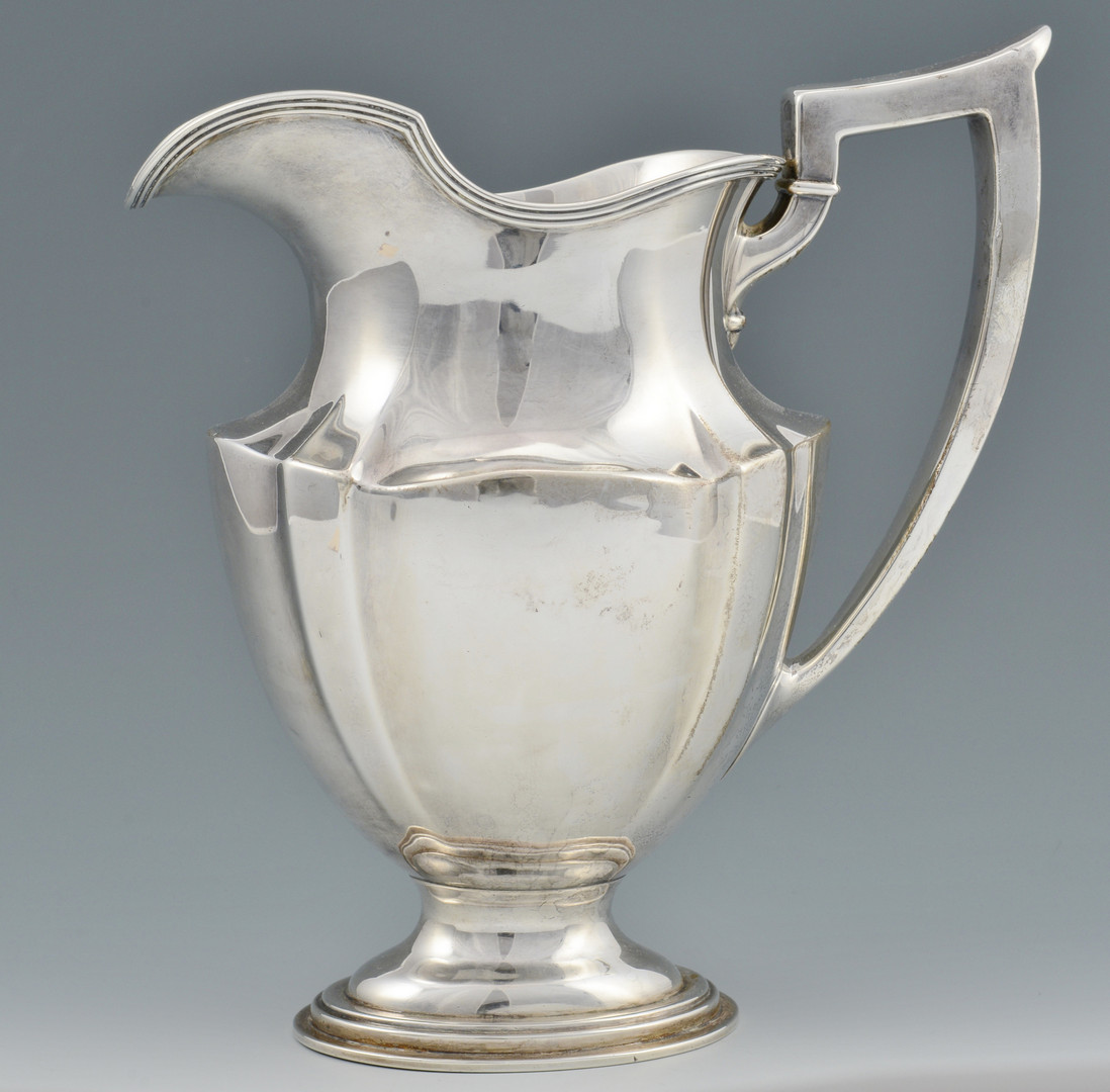Lot 686 Gorham Sterling Water Pitcher