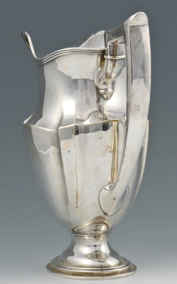 Lot 686: Gorham Sterling Water Pitcher