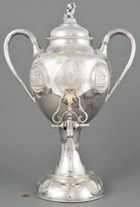 Lot 694: Victorian Hot Water Urn